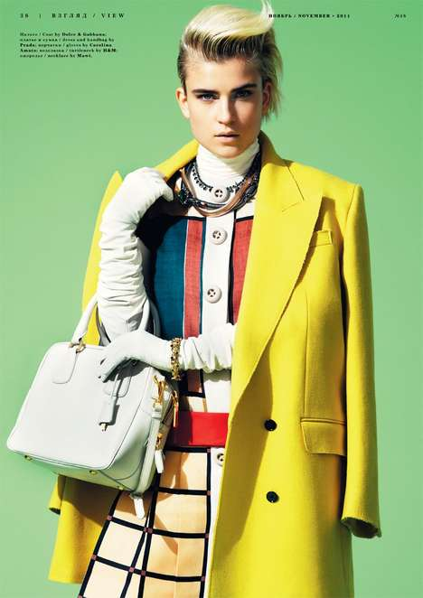 Jana Knauerova for Playing Fashion November 2011