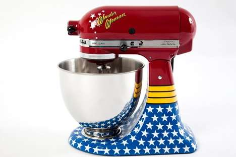 Wonder Woman Stand Mixer