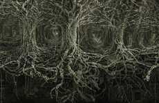 Human-Tangled Trees