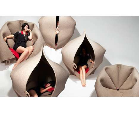 cocoon inspired furnishings