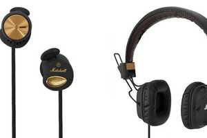 Rock Out to Tunes in the Marshall FX Headphones