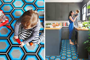 Kismet Tiles by Tracey Reinberg are an Optical Illusion