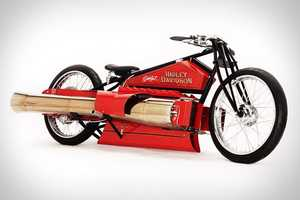 The 1929 Jet Engine Motorcycle Claims to be the Only One of Its Kind
