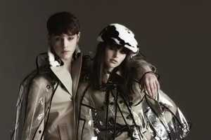 Slick Rainwear Featured in the Burberry London AW11 Campaign