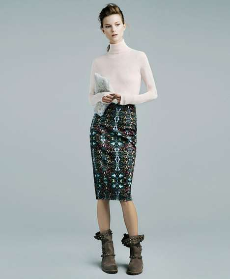 Kasia Struss for Zara November 2011