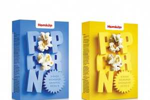 Hemkop Supercharges Their Line With Vibrant Packaging