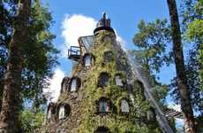 Lava-Less Volcano Hotels - Magic Mountain Lodge Gives You a Thrill Without the Danger