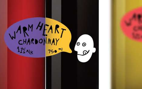 Warm Heart Chardonnay Packaging