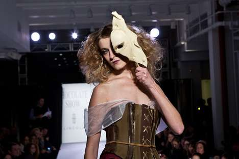 Cocoa Couture Catwalks - The Chocolate Fashion Show 2011 is a Sweet-Lover's Dream