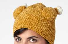 Festive Fowl Headgear - Get Into the Thanksgiving Spirit with this Knit Turkey Hat