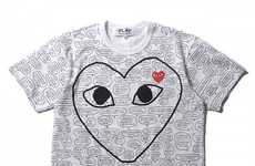 Comic Book-Infused Tees (UPDATE) - Comme des Garcons and Matt Groening Re-Release a Line