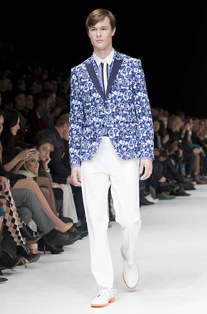 Oddball-Patterned Blazers