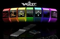 Face-Off Time Trackers - The Wrsyt Variance Watch has an Interchangeable Strap and Face