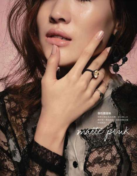 Jin Ah Rum for Elle Taiwan November 2011