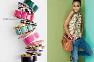 The J Crew Holiday 2011 Catalog Features Anais Mali and Liu Wen