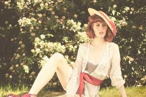 The Fashion Export Magazine 'The Garden' Shoot is Whimsical