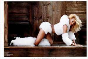 The Candice Swanepoel for V Magazine #74 Editorial is Fabulous and Furry