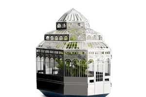 The Plantini Growing Kit Houses Your Plants in an Elaborate Style