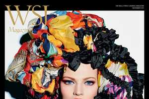 The WSJ November 2011 Editorial Features Vibrant Fall Fashions