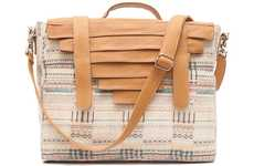 Pleasantly Pleated Purses - The Collina Strada Spring 2012 Collection Has Some Unexpected Details