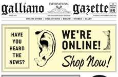 Newspaper-Themed Virtual Stores