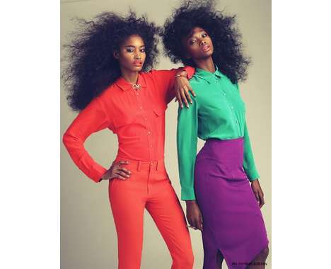 color blocking fashions