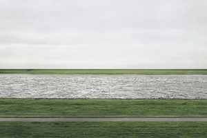 The Andreas Gursky 'Rhein II' is the World's Most Expensive Picture