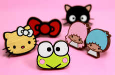 Animated Icon Jewelry - The Neivz and Sanrio Collaboration is Smile Worthy