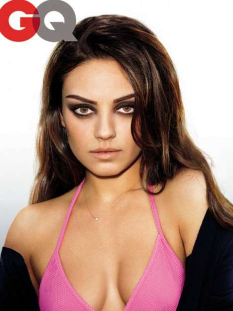 Mila Kunis for GQ December 2011