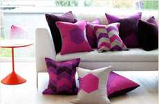Peppy Geometric Pillows - The Provide Made Cushion Series Has a Comfy and Crafty Appeal
