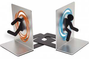 The Portal Bookends is Inspired by the Sci-Fi Video Game
