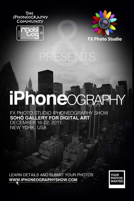 Crowdsourced Phone Captures - The iPhoneography International Exhibit Presents Pics from the Public