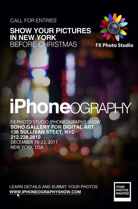 iphone photography exhibition new york
