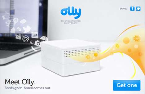Olly Digital Air Freshner
