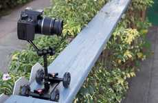 Robotic DSLR Pushcarts - Camera Table Dolly Provides a Steady Hand for Video Shoots