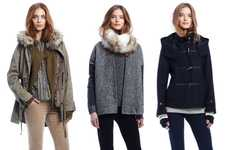 Over-Sized Winter Fashion - The Gap Holiday Collection 2011 Instills Warmth