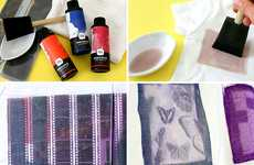 DIY Film-Dye Sets - The Photo Fabric Dye Kit is Made for Hipsters