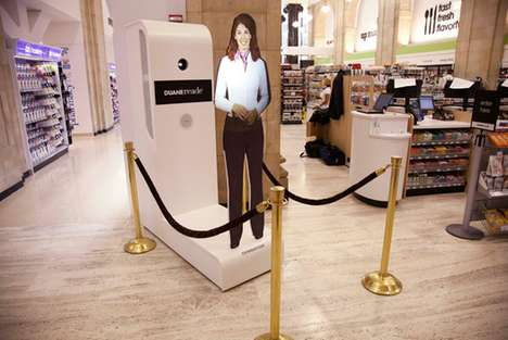 Virtual Shop Welcomers - The Holographic Greeter Provides New Incentives for Retail Consumers