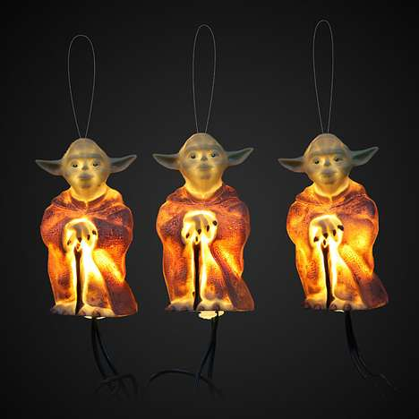 Yoda Star Wars Holiday Lights