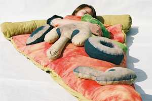 Stay Warm and Toasty in the Scrumptious Pizza Sleeping Bag