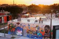 Graffiti-Infused Neighborhoods - The 'Wynwood Walls' in Miami Revitalizes a Deteriorating Community
