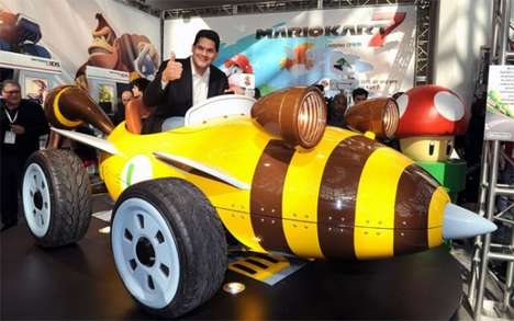life sized Mario Karts