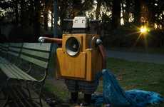 Heartbreaking Homeless Robot Sculptures  - 'No-Botty' by David Emmite Predicts Bleak Machine Futures