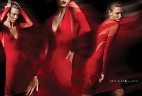 Karlie Kloss for Donna Karan Resort 2012