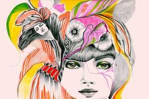 Felicia Atanasiu Packs Tons of Elements Into Her Artwork