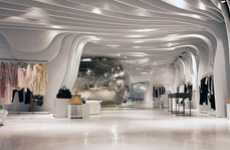 Ice Cove Boutiques - Runway Store by CLS Architetti Experiments With Chilly Design