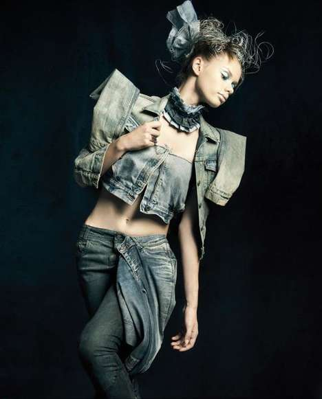 Denim Couture Shoots