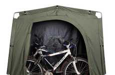 Cycle-Specific Tents - YardStash Protects Your Wheels Against Harsh Environments
