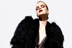 The Tom Ford Spring 2012 Collection Contains Extravagant Frill Fashions