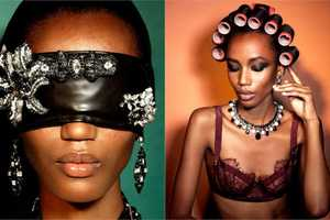 The Nadja Girmata for Vogue Italia Photo Shoot is Extravagant